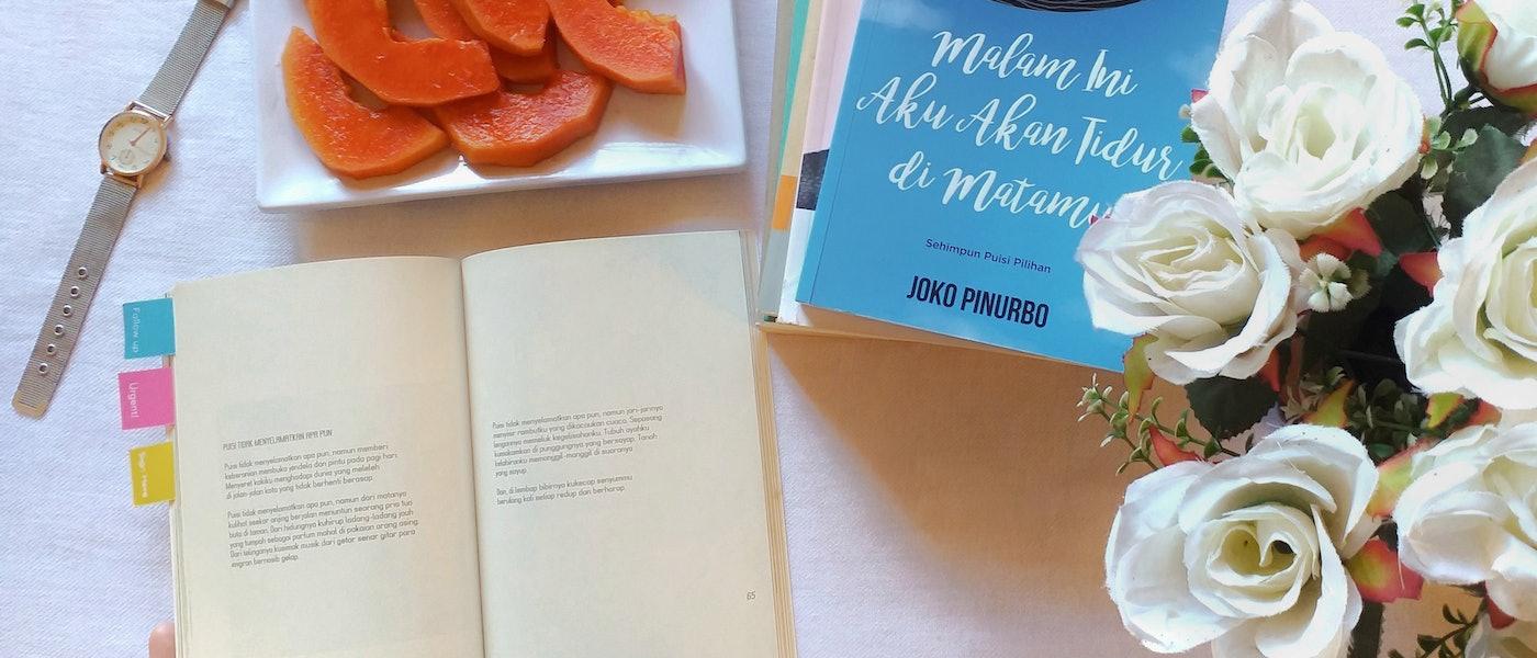 Suka Baca Puisi? Yuk Simak 7 Buku Puisi Rekomendasi Lifestyle Blogger Noviyana Shiali
