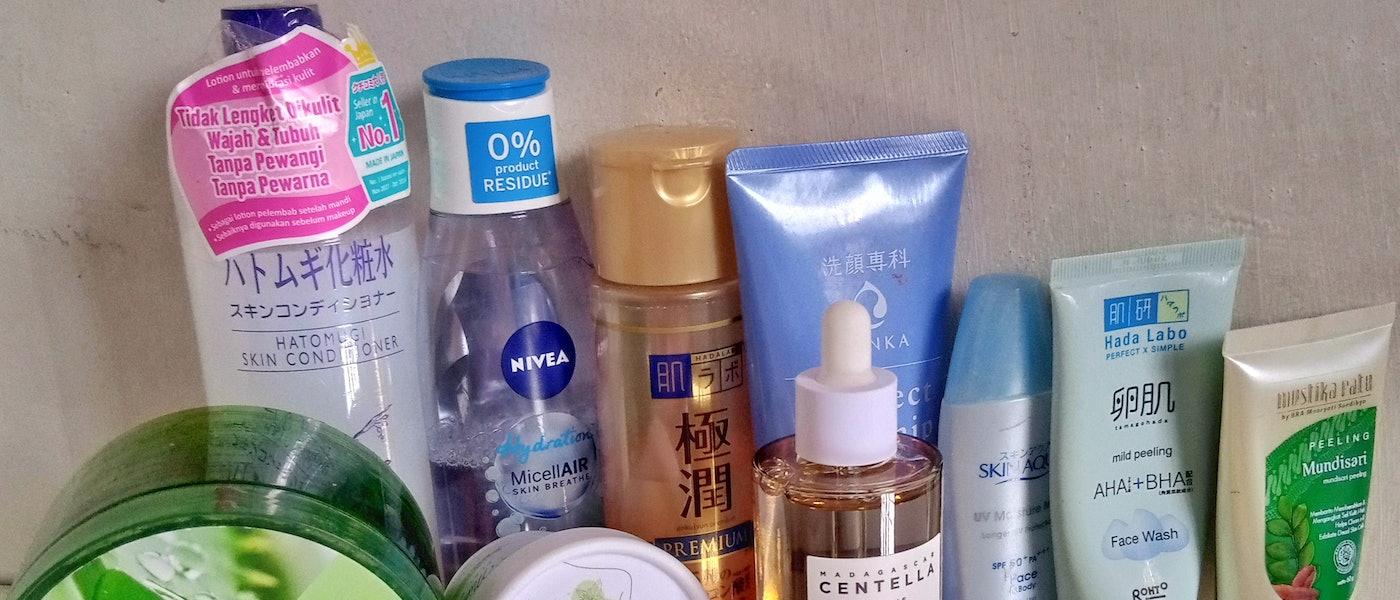 10 Rekomendasi Produk Skincare Penghilang Beruntusan