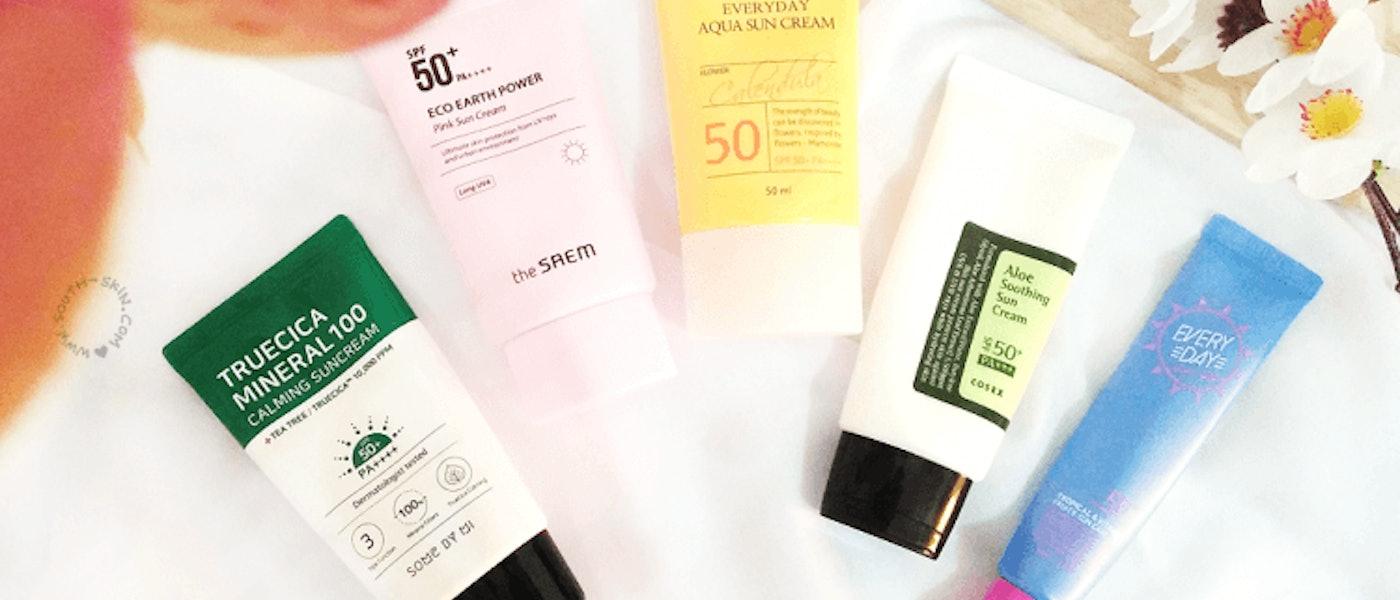 7 Produk Sunscreen Korea SPF 50+ Rekomendasi Beauty Blogger Icha Amalia