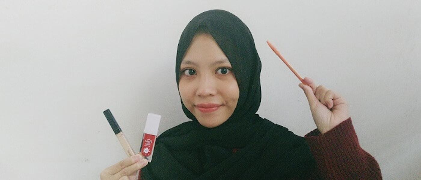 7 Produk Makeup di Bawah 100 Ribu Rupiah Rekomendasi Lifestyle Blogger Stafana Charis