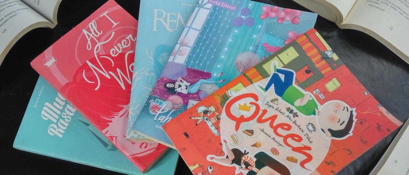 7 Novel Young Adult Realistic dengan Tokoh Remaja Rekomendasi Lifestyle Blogger Jiah Al Jafara