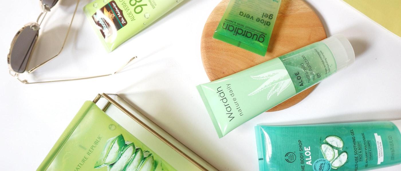 7 Produk Aloe Vera Gel di Bawah 200 Ribu Rekomendasi Lifestyle Blogger Ismarlina Mokodompit