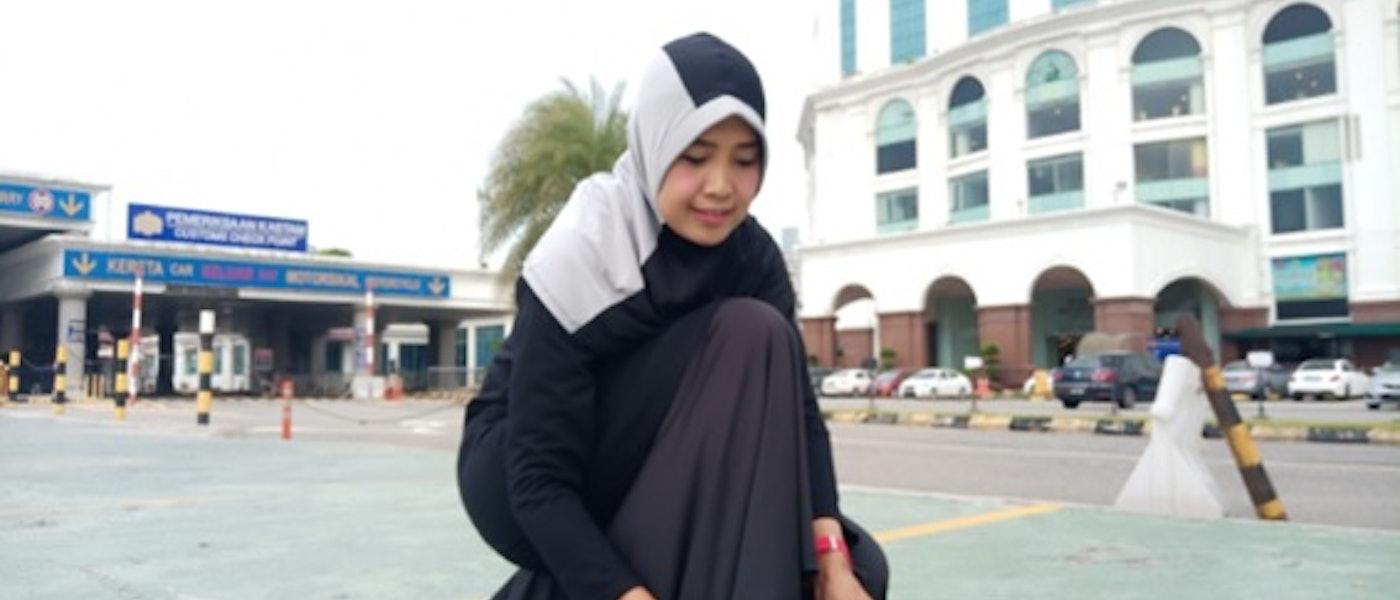 7 Outfit Olahraga Bagi Wanita Berhijab Rekomendasi Lifestyle Blogger Suzan Oktaria