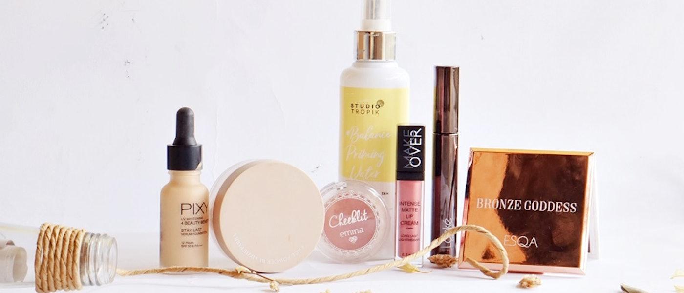 7 Produk Makeup Lokal yang Tidak Mudah Menempel pada Masker Rekomendasi Beauty Blogger Elisabeth Gultom