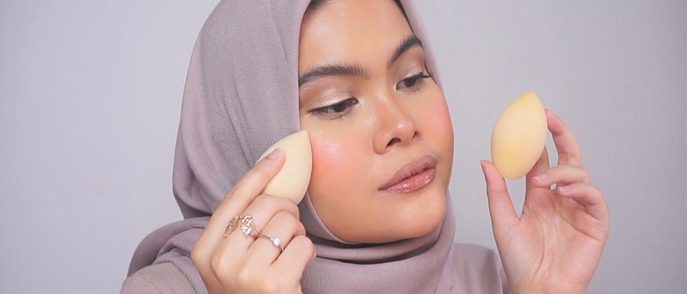 7 Beauty Blender dan Sponge Makeup Lokal Rekomendasi Beauty Blogger Annetta Darandri