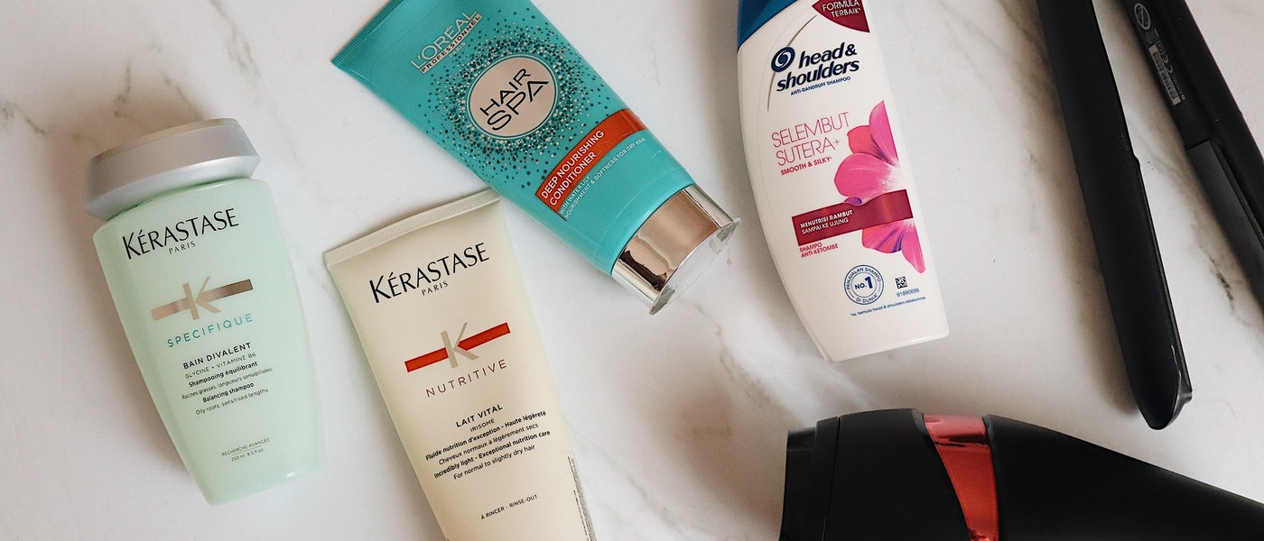 7 Produk Haircare untuk Kulit Kepala Berminyak dan Rambut Kering Rekomendasi Lifestyle Blogger Tiffani Kosasih