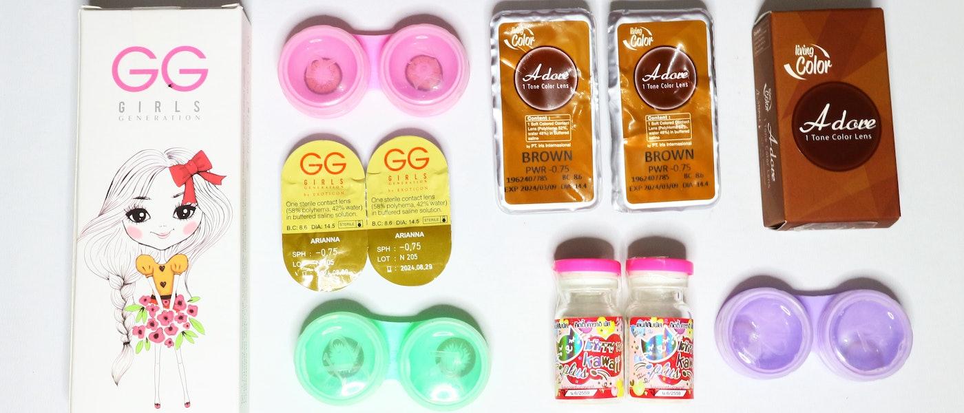 7 Produk Softlens untuk Makeup Natural Rekomendasi Beauty Blogger Elly Minarni