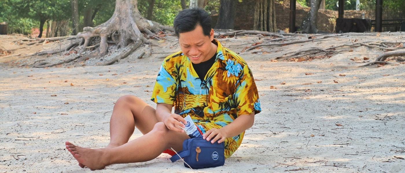 7 Produk Skincare untuk Pria yang Sebaiknya Dibawa Saat Traveling Rekomendasi Lifestyle Blogger Arisman Riyardi