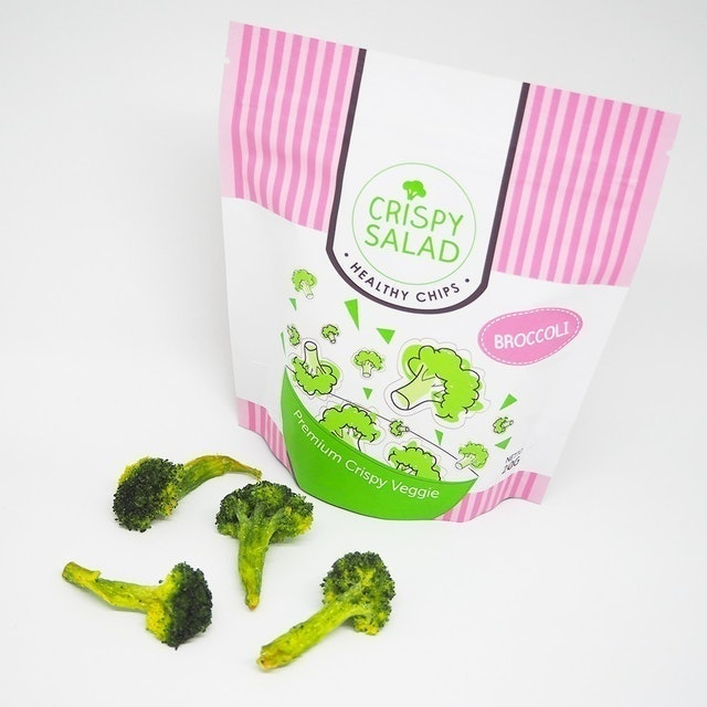 Crispy Salad  Broccoli Chips 1