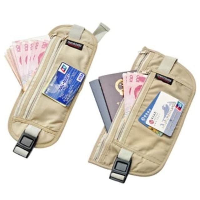 Travel Money Belt and Hidden Passport Holder 1