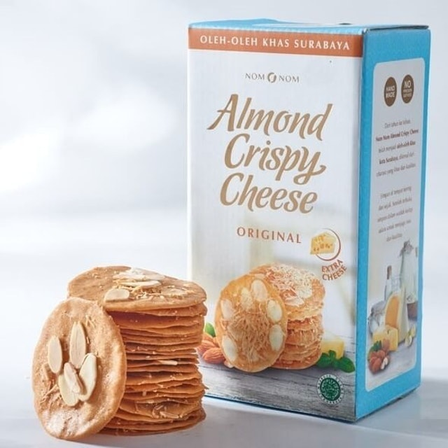 Nom Nom  Almond Crispy Cheese 1