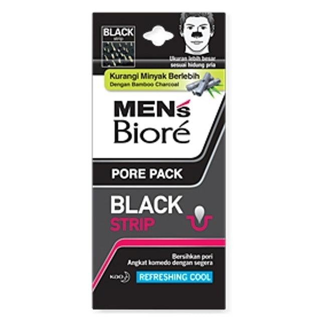Kao Men's Biore Pore Pack Black 1