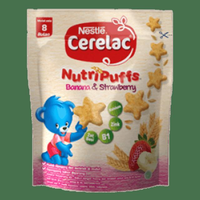 Nestlé  Cerelac NutriPuffs Banana & Strawberry 1