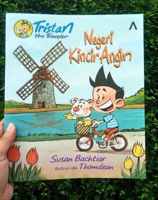Susan Bachtiar Tristan The Traveler: Negeri Kincir Angin 1