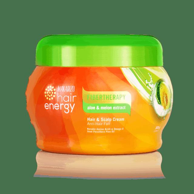 Makarizo Fibertherapy Hair & Scalp Cream with Aloe & Melon Extract 1
