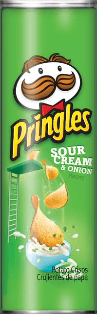 Kellogg  Pringles Sour Cream & Onion 1