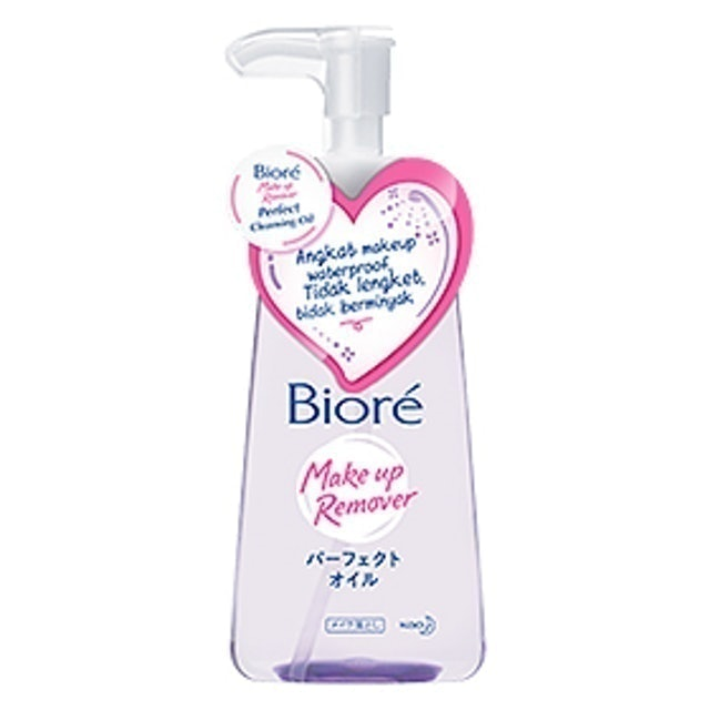 Kao Biore Makeup Remover Perfect Cleansing Oil 1