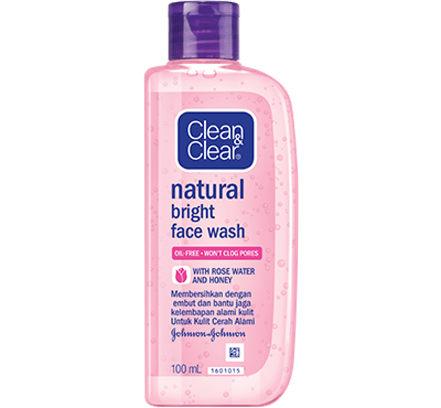 Johnson & Johnson Clean & Clear Natural Bright Face Wash 1