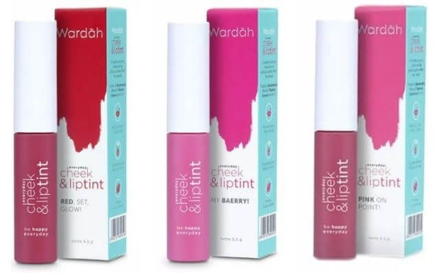 Wardah  Everyday Cheek & Lip Tint  1