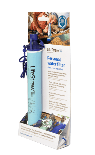 Personal Water Filter LifeStraw  1