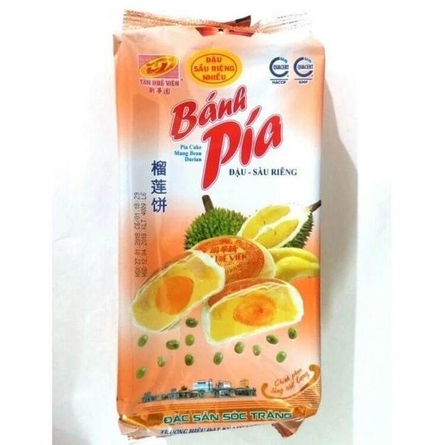 Banh Pia  Chay Dau Sau Rieng 1