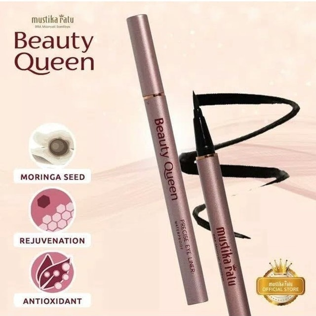 Mustika Ratu Beauty Queen Precise Eye Liner 1