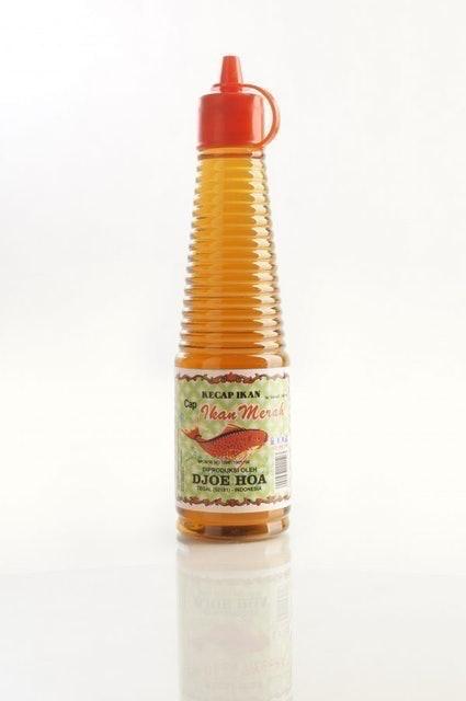 Djoe Hoa Kecap Ikan cap Ikan Merah 1