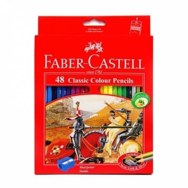 Faber-Castell  Classic Colour Pencils 48 1