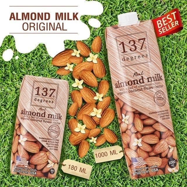 Simple Foods Co. 137 Degrees Almond Milk Original 1