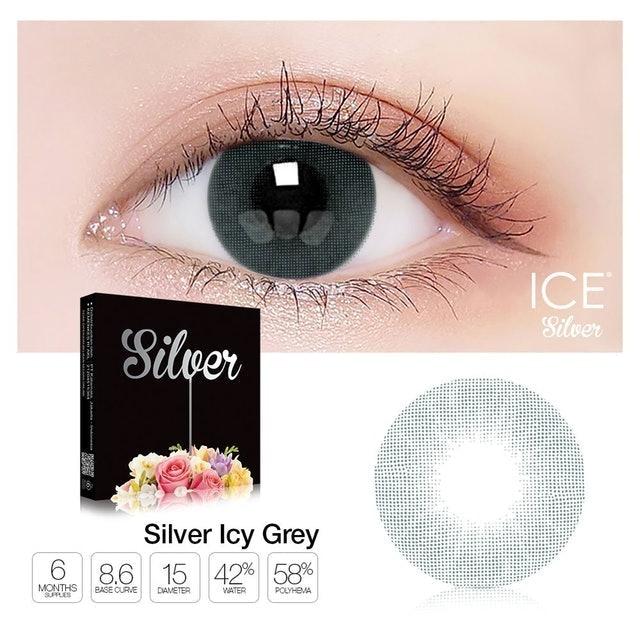 EXOTICON Ice Silver Icy Grey 1