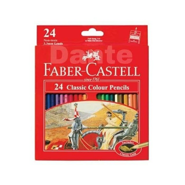 Faber-Castell  24 Classic Colour Pencils 1