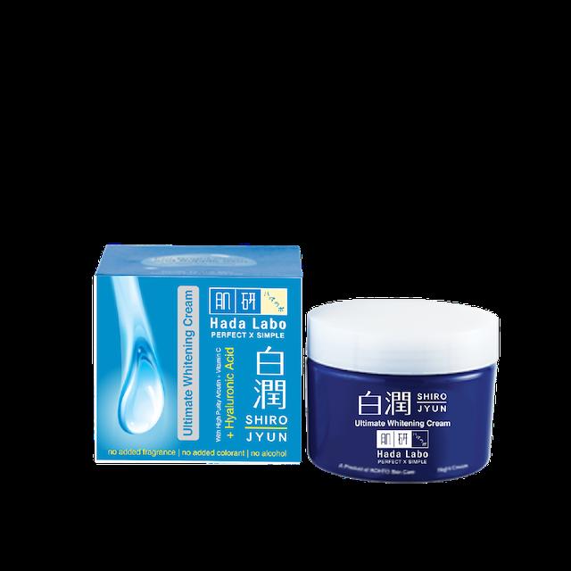 Rohto  Hada Labo Shirojyun Ultimate Whitening Cream 1