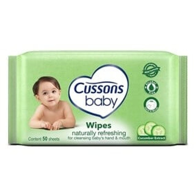 Cussons Baby  Naturally Refreshing Baby Wipes 1