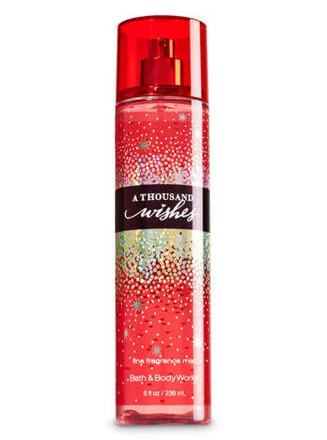 Bath & Body Works A Thousand Wishes Fine Fragrance Mist  1
