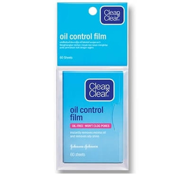 Clean & Clear Oil Control Film Blue  1
