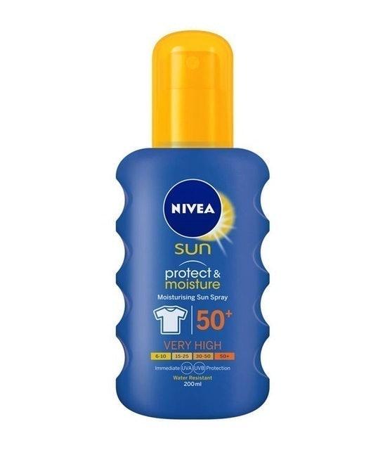 Nivea Sun Protect & Moisture Spray SPF 50+ 1
