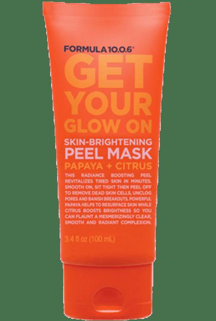 Formula 10.0.6  Get Your Glow On Skin-Brightening Peel Mask Papaya + Citrus 1
