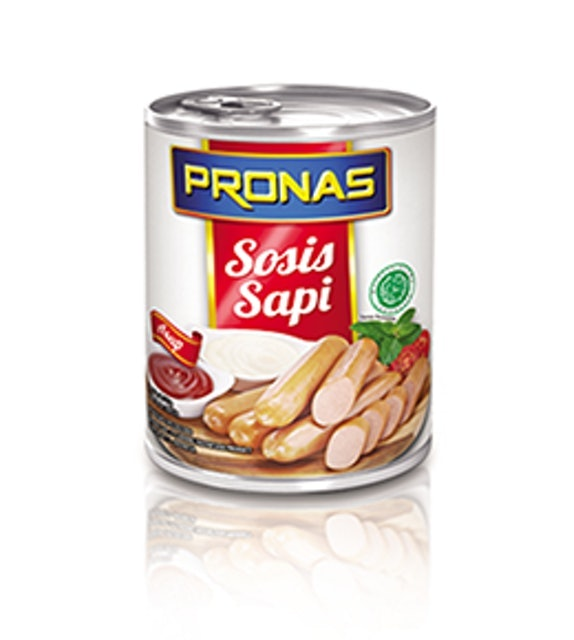 Pronas Indonesian Canned Beef Sausage 1