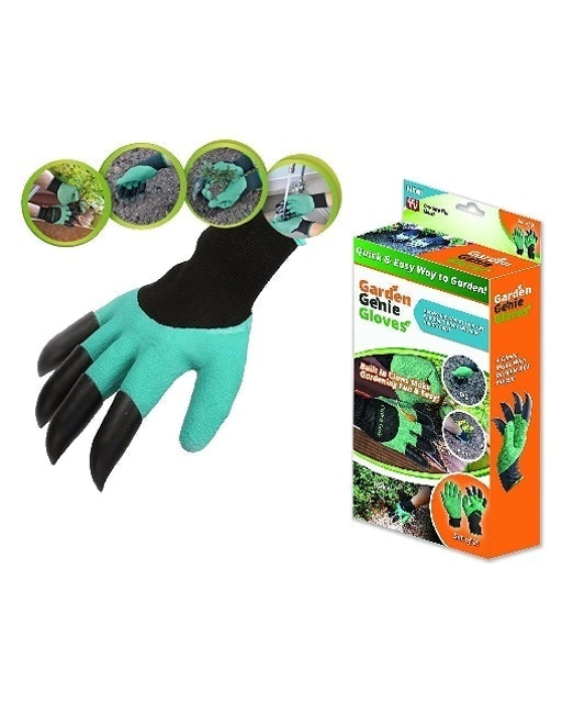 Garden Genie Gloves Quick and Easy Way to Garden  1
