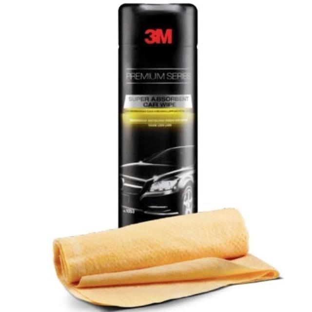 3M  Premium Series Super Absorbent Car Wipe 1