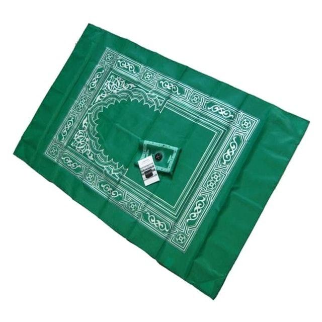 Pocket Prayer Mat with Compass 1