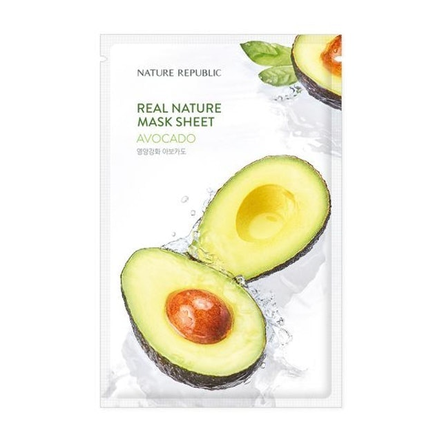 Nature Republic  Real Nature Avocado Mask Sheet 1