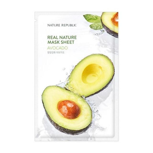 Nature Republic  Real Nature Avocado Mask Sheet 1