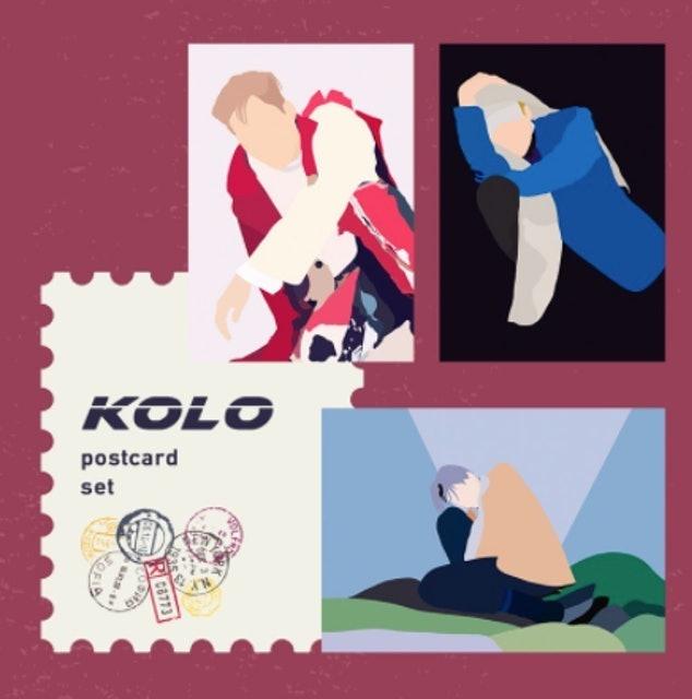another.bloom Kai KOLO Postcard Set 1