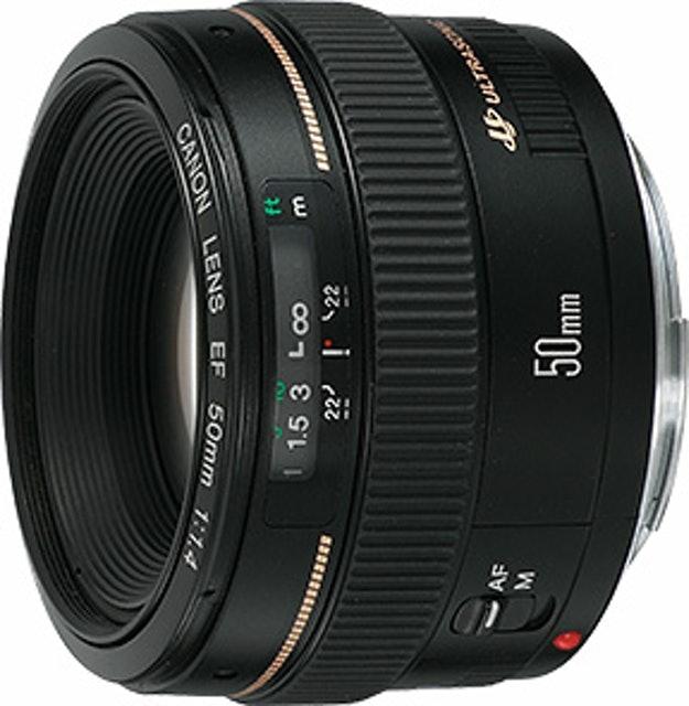 Canon  EF 50mm f/1.4 USM 1