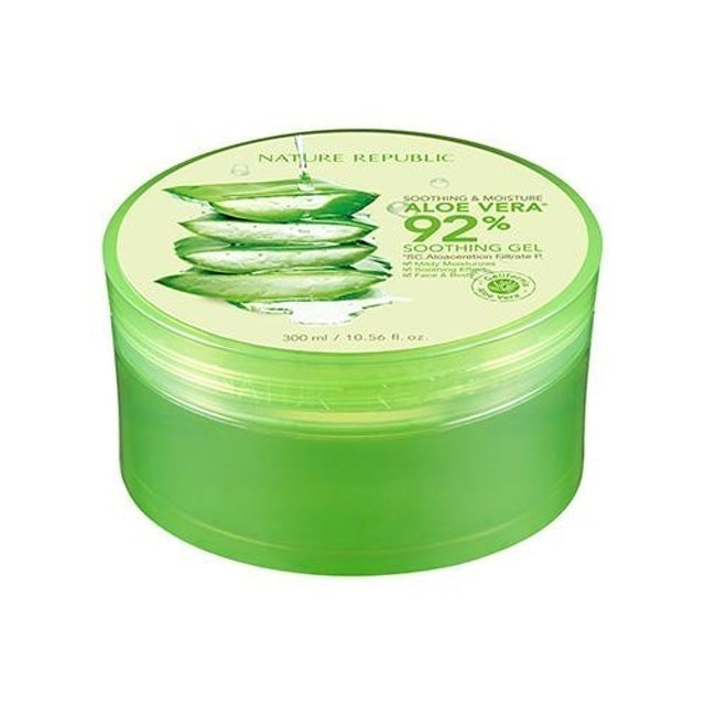 Nature Republic Soothing & Moisture Aloe Vera 92% Soothing Gel 1