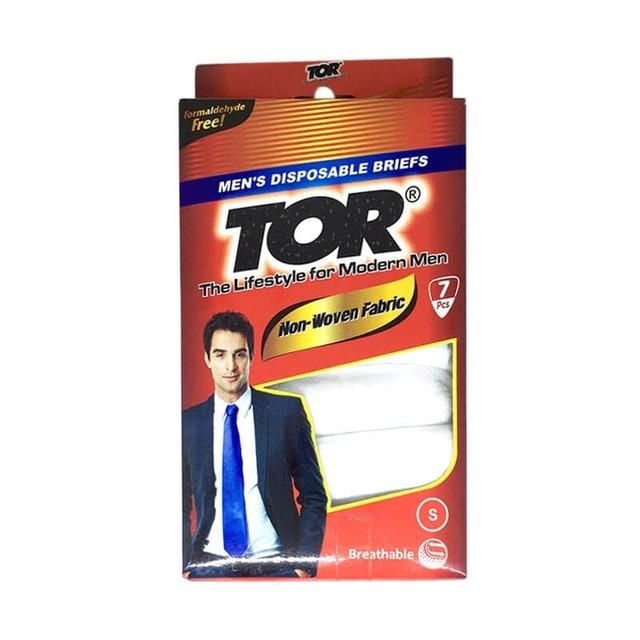 TOR Mens Disposable Briefs Celana Dalam Pria Sekali Pakai  1