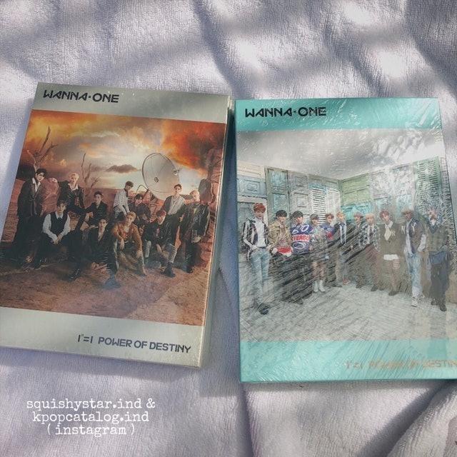Wanna One Power of Destiny Official Album 1