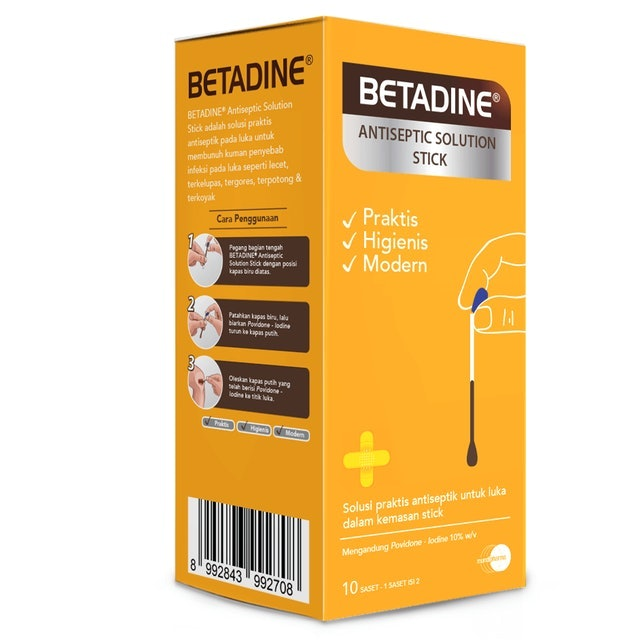 Betadine®  Antiseptic Solution Stick 1