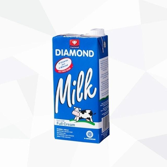 Diamond Susu UHT Full Cream 1